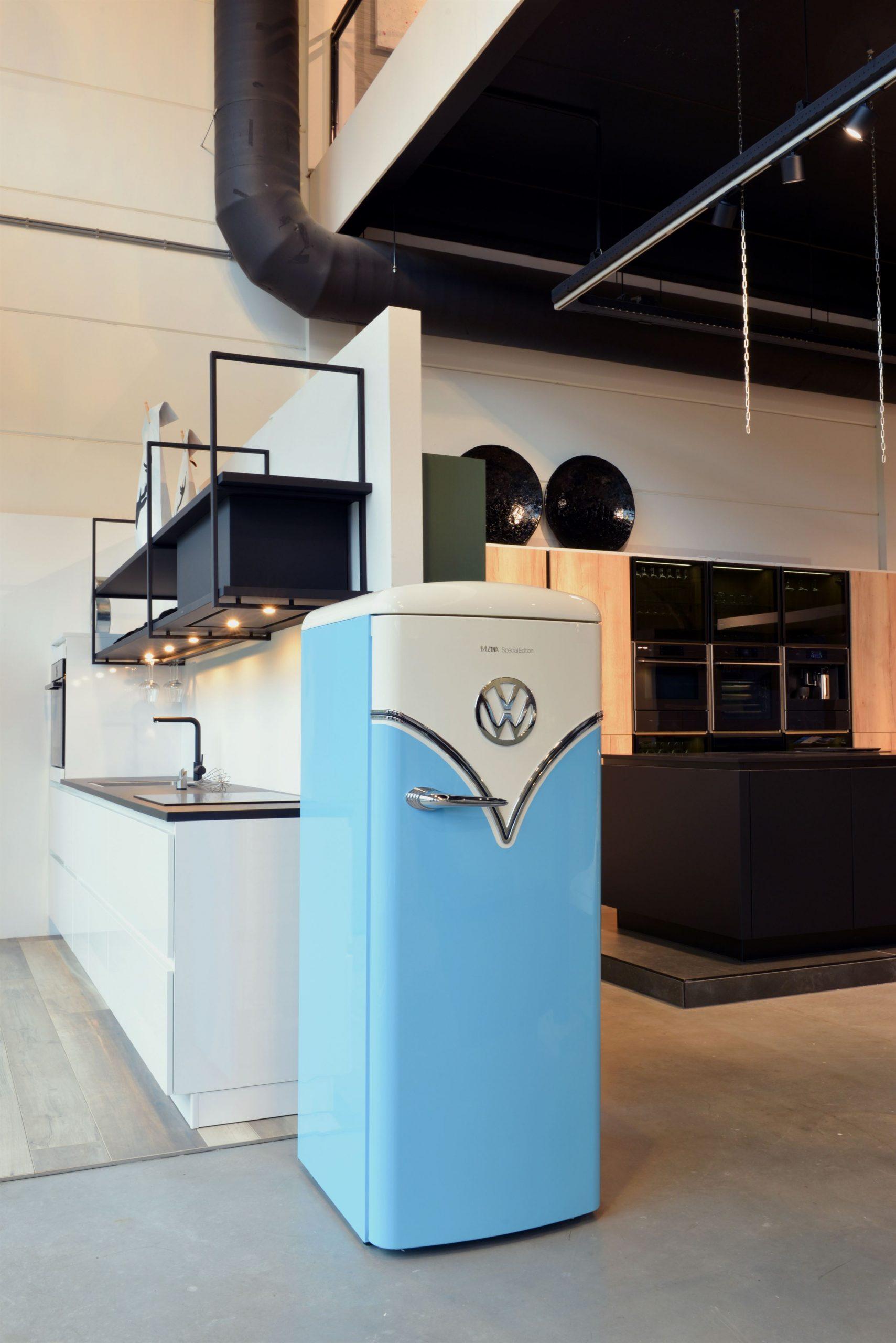 Koelkast Etna retro volkswagen Veox Keukens